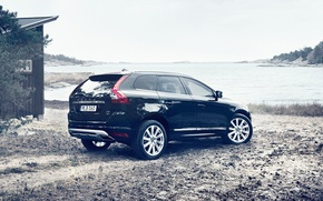 Картинка Volvo, Берег, Вольво, XC60