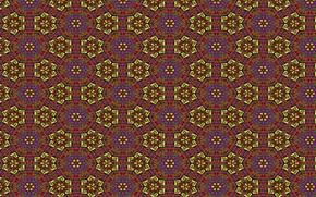 Обои цветы, фон, линии, обои, цвет, рисунок, фигуры, калейдаскоп, узоры, орнамент, звезда, текстуры