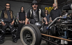 Картинка metal, метал, hot rod, Five Finger Death Punch, rat rod, 5FDP, FFDP, 5 Finger Death …