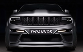 Картинка SRT-8, Jeep, Grand Cherokee, TYRANNOS