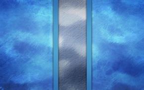 Обои синий, волнистый, текстура, светлый фон, белый, полосы