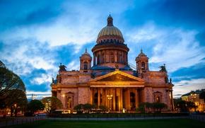 Картинка Город, Исаакиевский собор, Санк-Петербург