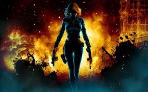 Картинка animation, Black Widow, The Avengers, comic hero