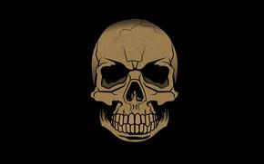 Картинка смерть, череп, зубы, skull