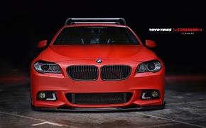Картинка Авто, BMW, Машина, оптика, перед, Auto, Vossen, Wheels
