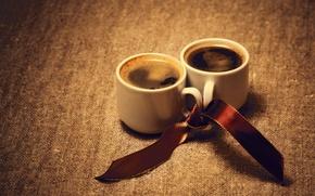 Картинка фон, widescreen, обои, чай, настроения, кофе, пара, кружка, чашки, лента, чашка, wallpaper, напиток, кружки, широкоформатные, ...