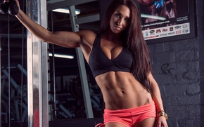 Картинка sexy, model, pose, fitness, gym