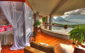 Картинка interior, Saint Lucia, Jade Mountain Resort