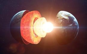 Картинка planet, asthenosphere, Upper mantle, Lithosphere