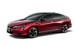 Обои Concept, концепт, Honda, хонда, 2015, FCV