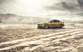 Картинка car, пустыня, BMW, Vorsteiner, tuning, GTRS4