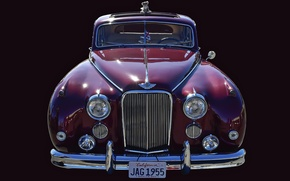 Обои ретро, автомобиль, Jaguar