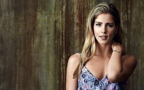 Картинка девушка, актриса, блондинка, сериал, Arrow, Стрела, season 2, Emily Bett Rickards, Felicity Smoak, Эмили Бетт …