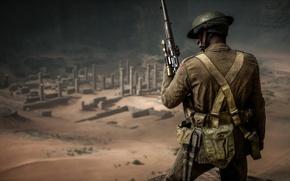 Обои солдат, Electronic Arts, война, Battlefield 1