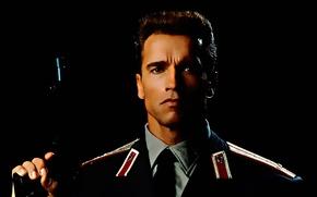 Картинка классика, униформа, Арнольд Шварценеггер, Красная жара, Red Heat