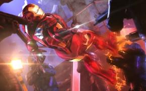 Картинка iron man, fan art, marvel comics, tony stark