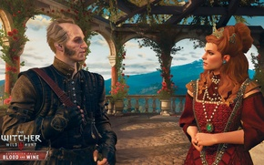 Картинка вампир, DLC, The Witcher 3: Wild Hunt, Ведьмак 3, дополнение, Кровь и Вино, Blood and …