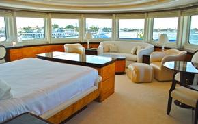 Картинка дизайн, стиль, интерьер, luxury yacht, living area