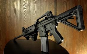 Обои оружие, автомат, S&W M-4
