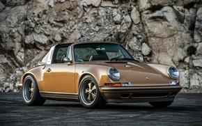 Картинка 911, Porsche, порше, Singer, Targa, тарга