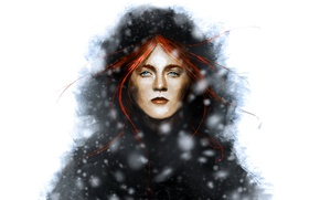 Картинка woman, Game of Thrones, Ygritte, Kissed by Fire