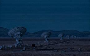 Картинка антенна, цифры, технология, радиотелескоп, коды