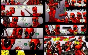 Картинка Deadpool, Marvel, Дэдпул, комикс, comics, Wade Wilson, Марвел, Уэйд Уилсон