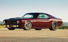 Обои обои, Mustang, Ford, форд, легенда, muscle car, 1970, wallpapers, SportsRoof
