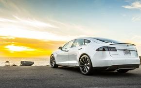 Картинка Tesla, Model S, тесла, электрокар