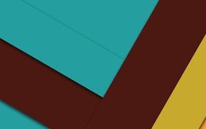 Картинка линии, желтый, голубой, геометрия, design, color, material, коричневий