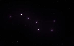 Картинка Большая Медведица, Созвездие, Большой Ковш, Big Dipper