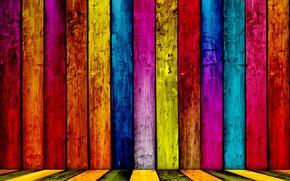 Обои цвета, краски, доски
