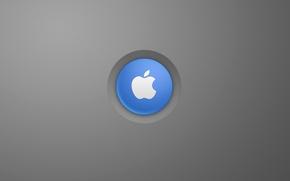 Картинка компьютер, apple, яблоко, логотип, mac, телефон, ноутбук, эмблема, гаджет