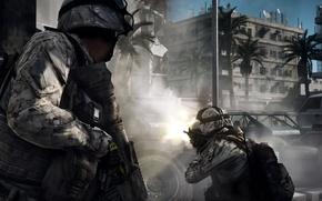 Картинка город, солдаты, battlefield, BF3