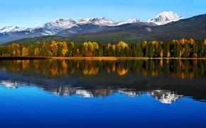 Картинка autumn, mountains, lake