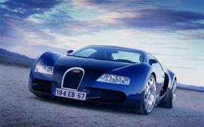 Картинка машина, Bugatti, автомобиль, Veyron EB