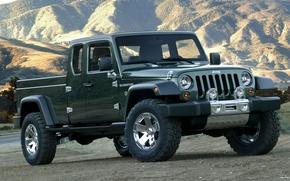 Картинка Concept, джип, концепт, Gladiator, гладиатор, Jeep