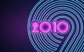 Картинка розовый, темный, Новый год, 2010, бирюзовый