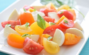 Обои vegetable, Foods, Insalata Caprese