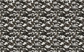 Картинка поверхность, металл, фон, блеск, текстуры, рельеф, застывший, олово, зеркальная
