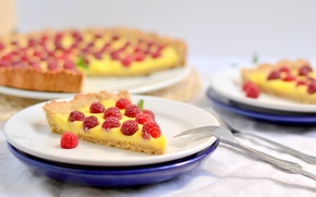 Картинка малина, еда, торт, пирожное, cake, десерт, food, сладкое, cream, dessert, raspberries