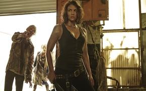 Картинка The Walking Dead, Ходячие мертвецы, Lauren Cohan, Maggie Greene, Лорен Кохэн