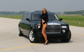 Обои Аэропорт, Phantom, Rolse Royce