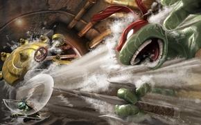 Картинка tmnt, turtles, черепашки, smash up, mutant ninja turtles