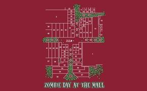 Картинка план, зомби, кружочки