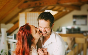 Картинка love, couple, laugh