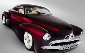 Обои авто, Классика, вишневый
