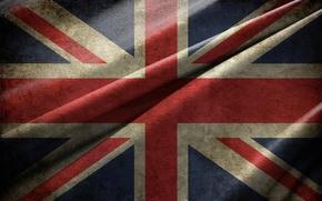 Картинка флаг, Великобритания, Текстура, Union Jack