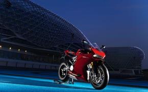 Картинка мотоцикл, спортбайк, дукати, Superbike, Ducati 1199 Panigale