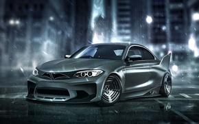 Картинка авто, BMW, БМВ, Бэтмен, Batman, супергерой, Marvel, Марвел, DC Superheroes